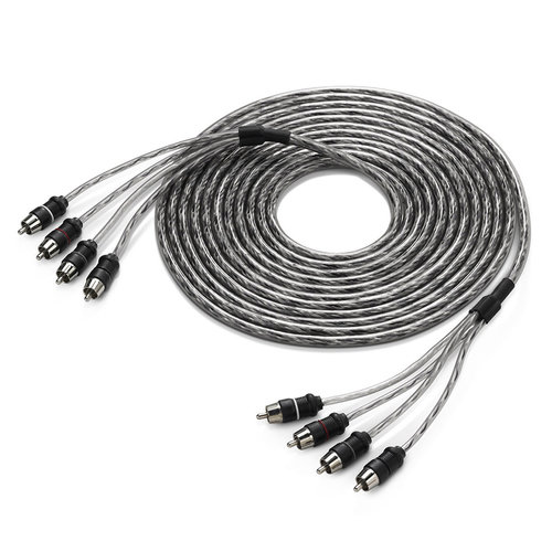 View Larger Image of 4-Channel Core RCA Male to RCA Male Cable - 18 ft. (5.49m)
