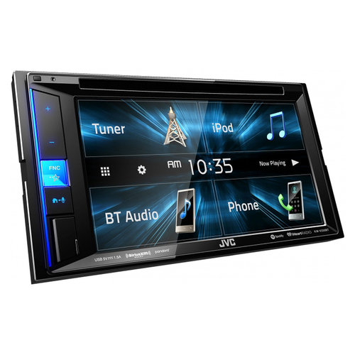 """View Larger Image of KW-V250BT 6.2"""" CD/DVD Receiver w/ USB Input and Bluetooth"""