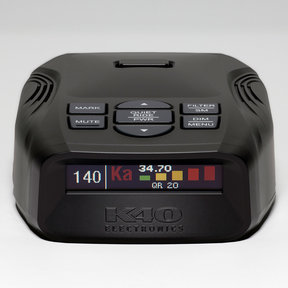 Platinum100 Portable Radar Detector with GPS (Without Remote Control)