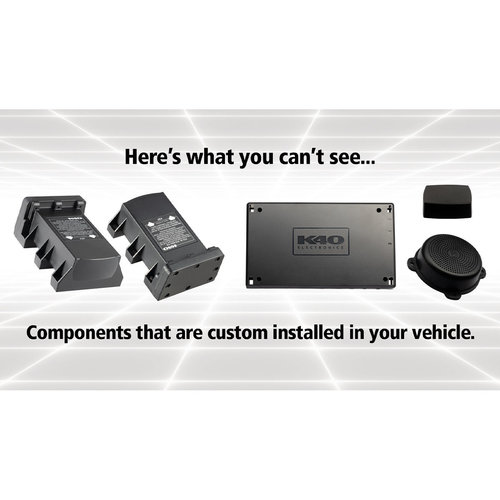 View Larger Image of Platinum360 Expert Dual Receiver Radar Detector with GPS and Hard-Wired Expert Control