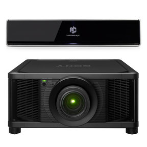 Terra 4K Ultra HD 48TB Movie Server with Sony VPL-VW5000ES 4K Home Theater Laser Projector