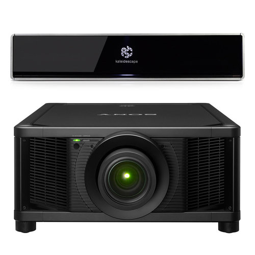 View Larger Image of Terra 4K Ultra HD 48TB Movie Server with Sony VPL-VW5000ES 4K Home Theater Laser Projector