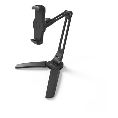 View Larger Image of DS250 Universal Phone and Tablet Stand with Extended Arm (Black)