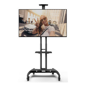 MTM65PL Mobile TV Mount with Adjustable Shelf for 37-inch to 65-inch TVs