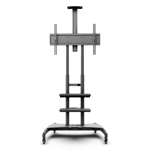 View Larger Image of MTM82PL2 Mobile TV Mount with Double Adjustment Shelves for 50-inch to 82-inch TVs
