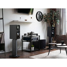 """View Larger Image of SX22 22"""" Tall Fillable Speaker Stands with Isolation Feet - Pair"""