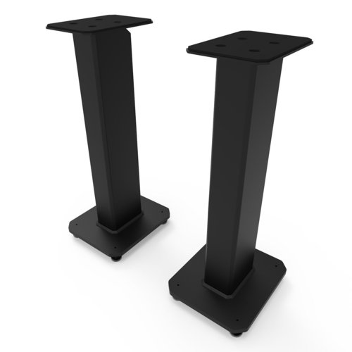 """View Larger Image of SX26 26"""" Tall Fillable Speaker Stands with Isolation Feet - Pair"""