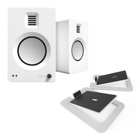 TUK Premium Powered Speakers with S6 Desktop Speaker Stands