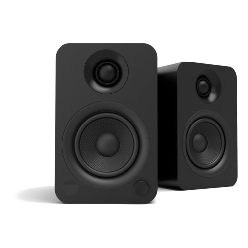 View Larger Image of YU Powered Bookshelf Speaker with Bluetooth (Matte Black) - Pair