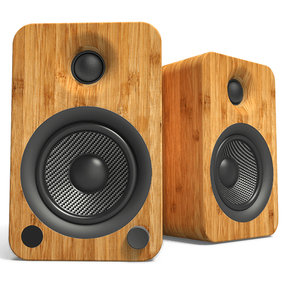 YU4 Powered Bookshelf Speakers with Built-In Bluetooth - Pair