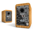 View Larger Image of YU4 Powered Bookshelf Speakers with Built-In Bluetooth - Pair