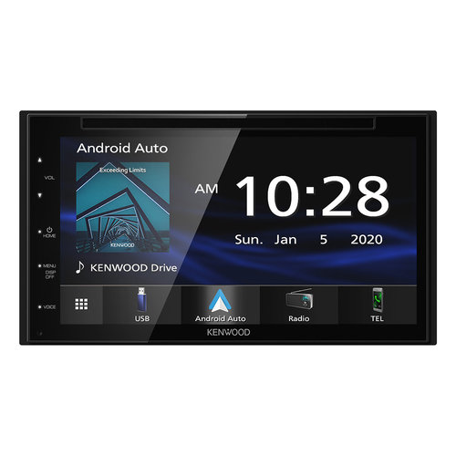 "View Larger Image of DDX57S 6.8"" Capacitive Screen DVD Receiver with Car Play, Android Auto, Bluetooth"