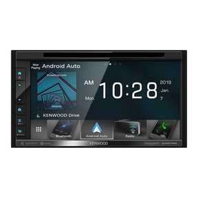 DDX6706S DVD CD Car In Dash Car Stereo with Bluetooth, Apple CarPlay and Android Auto, 6.8-Inch Clear Resistive Touchscreen, AM FM Radio