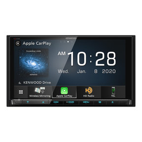"DDX9907XR 6.8"" CD/DVD Receiver w/ Apple CarPlay and Android Auto"