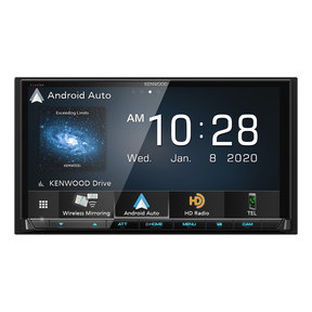 """DMX907S 6.95"""" Digital Media Touchscreen Receiver w/ Apple CarPlay and Android Auto"""