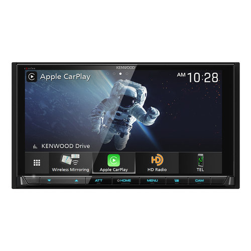 """View Larger Image of DMX957XR 6.8"""" Digital Media Touchscreen Receiver w/ Apple CarPlay and Android Auto"""