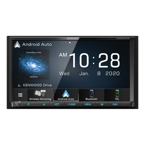 """View Larger Image of DMX9707S 6.95"""" Digital Media Touchscreen Receiver w/ Apple CarPlay and Android Auto"""