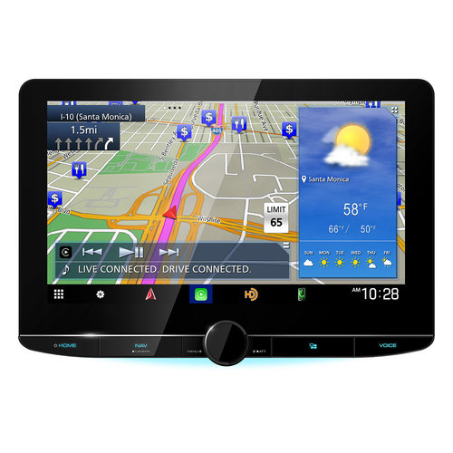 """View Larger Image of DNR1007XR eXcelon 10.1"""" High Definition Navigation Car Stereo Receiver with Capacitive Touch Panel"""