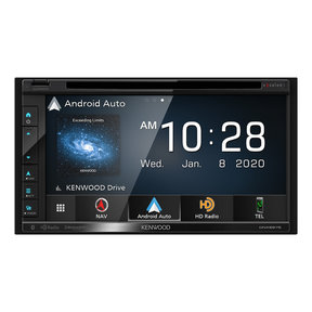 """DNX697S 6.8"""" CD/DVD Garmin Navigation Touchscreen Receiver w/ Apple CarPlay and Android Auto"""