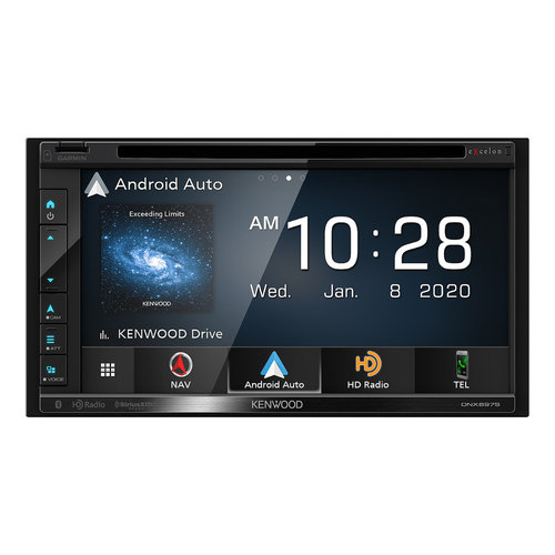 """View Larger Image of DNX697S 6.8"""" CD/DVD Garmin Navigation Touchscreen Receiver w/ Apple CarPlay and Android Auto"""