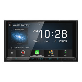 "DNX997XR 6.8"" CD/DVD Garmin Navigation Touchscreen Receiver w/ Apple CarPlay and Android Auto"