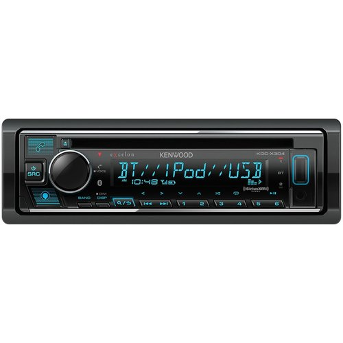 View Larger Image of KDC-X304 eXcelon CD Receiver w/ Bluetooth