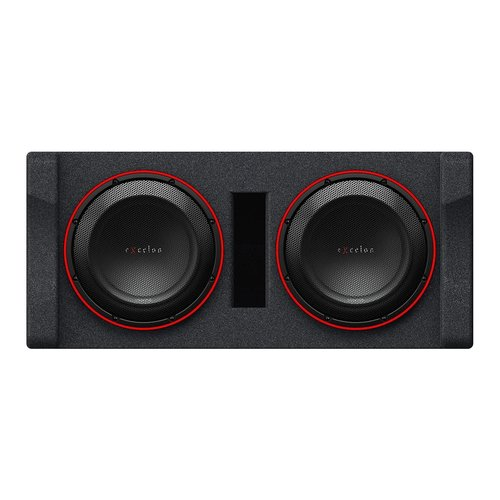 """View Larger Image of P-XW1221DHP Dual 12"""" High Performance 2-Ohm Subwoofer Enclosure"""