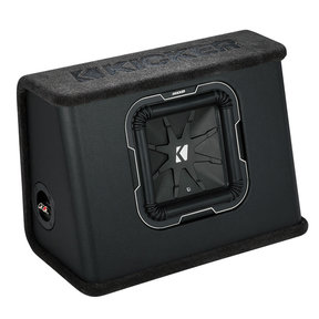 "41TL7102 10"" Q-Class L7 Subwoofer in Slim Sealed 2-Ohm Enclosure"