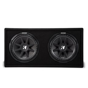 "43DC122 Dual 12"" Comp 2-Ohm Subwoofer Enclosure"