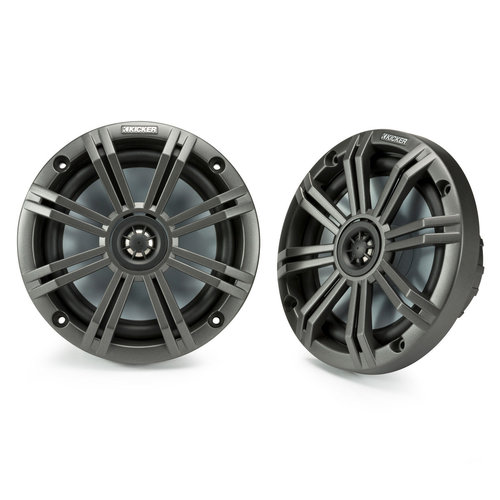 "View Larger Image of 45KM654 6-1/2"" 4-Ohm Marine Coaxial Speakers - Pair"