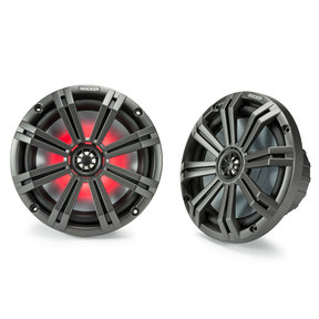 "45KM84L 8"" LED Marine Coaxial Speakers - Pair"