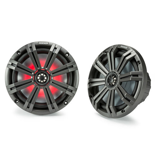 """View Larger Image of 45KM84L 8"""" LED Marine Coaxial Speakers - Pair"""