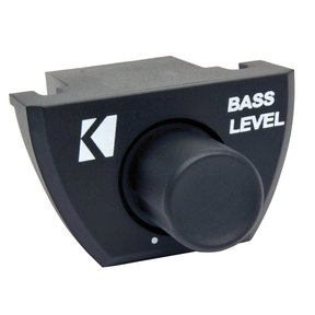 46CXARCT Wired Remote Bass Controller for Select Kicker Amplifiers