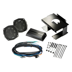 """46HDS962 5-1/4"""" Coaxial Speakers and 2-Channel Amplifier for Select 1996-2013 Harley-Davidson Motorcycles"""