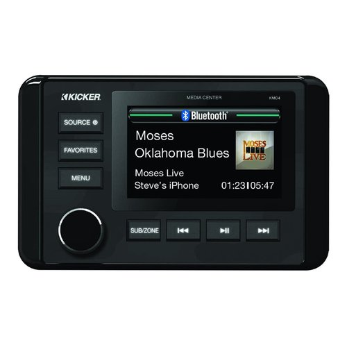 View Larger Image of 46KMC4 Marine Dual-Zone Stereo Receiver with Bluetooth