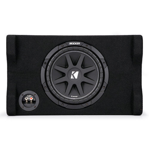 """View Larger Image of 48CDF104 Comp 10"""" Down-Firing Loaded Subwoofer Enclosure"""