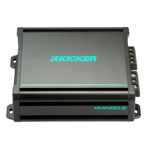 View Larger Image of KMA150.2 75 Watts x 2 2-Channel Marine Full-Range Amplifier