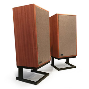 "Model Five 3-way 10"" Acoustic Suspension Floorstanding Speakers - Pair (Mahogany)"