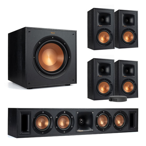 View Larger Image of 5.1 Channel Wireless Home Theater System