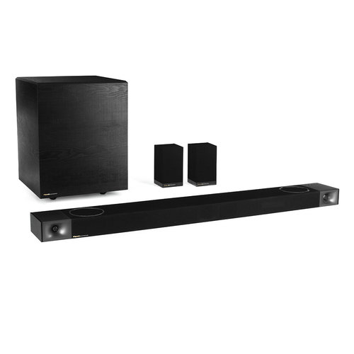 """View Larger Image of Cinema 1200 5.1.4 Dolby Atmos Sound Bar with 12"""" Wireless Subwoofer and Wireless Surround Speakers"""