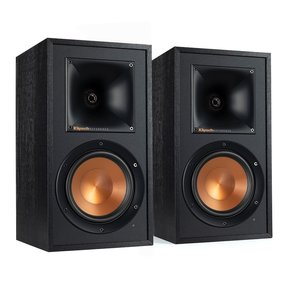 RW51M Wireless Bookshelf Speakers  (Black) - Pair