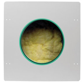 """ME-800-C Fire Rated Metal Enclosure for 8"""" In-Ceiling Speaker"""