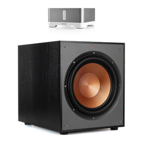 """R-120SW 12"""" Subwoofer with Sonos CONNECT:AMP Wireless Amplifier for Streaming Music"""