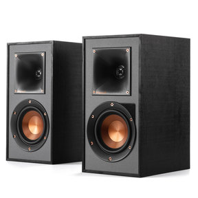 R-41PM Powered Bluetooth Bookshelf Speakers - Pair (Black)
