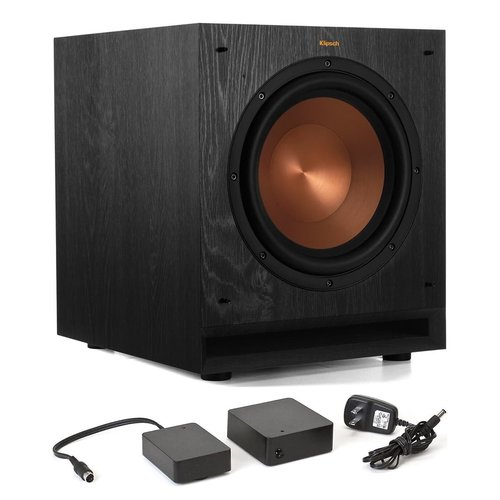 """View Larger Image of SPL-100 10"""" Subwoofer (Ebony) with WA-2 Wireless Subwoofer Kit"""