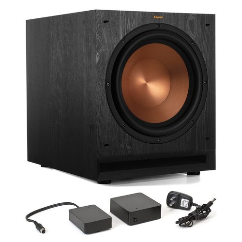 """View Larger Image of SPL-120 12"""" Subwoofer (Ebony) with WA-2 Wireless Subwoofer Kit"""