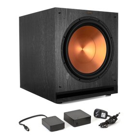 "SPL-150 15"" Subwoofer (Ebony) with WA-2 Wireless Subwoofer Kit"