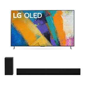 """OLED55GXP 55"""" OLED Gallery 4K UHD HDR Smart TV with 3.1 Channel High-Res Audio Sound Bar GX"""