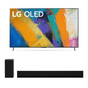 """OLED65GXP 65"""" OLED Gallery 4K UHD HDR Smart TV with 3.1 Channel High-Res Audio Sound Bar GX"""
