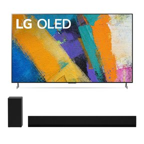 "OLED77GXPUA 77"" OLED Gallery 4K UHD ThinQ AI TV with 3.1 Channel High-Res Audio Sound Bar GX"